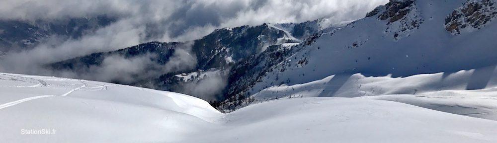 photo pistes ski domaine Serre-Chevalier hiver